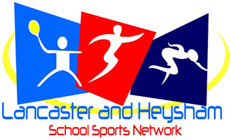 Lancaster and Heysham School Sports Network logo