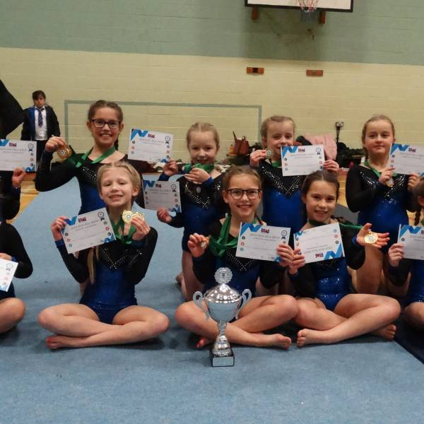 WESTGATE YEAR 3/4 ACRO GYMNASTICS CHAMPS