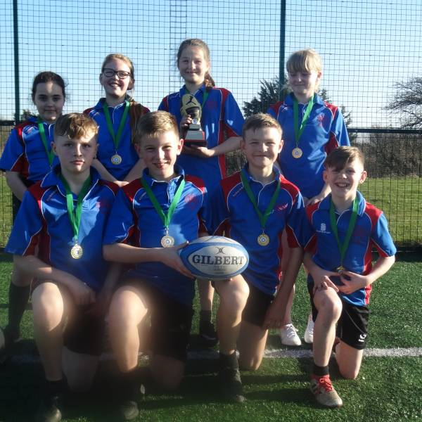 ST PETERS TACKLE GOLD IN THE SSCO TAG RUGBY