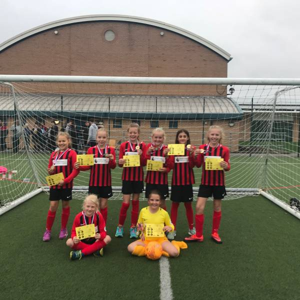 Girls football qualifier